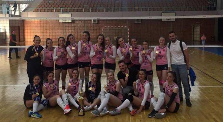 KASTRIOTI KAMPION I KOSOVËS PËR GRUPMOSHËN U18 FEMRAT