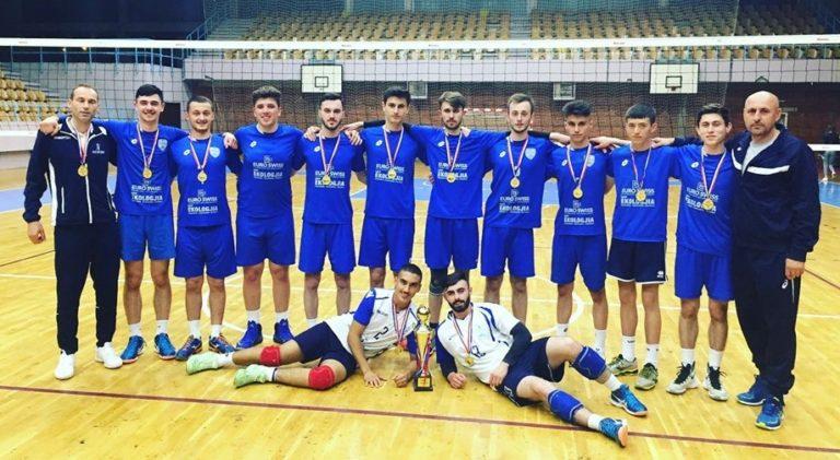 LUBOTENI SHPALLET KAMPION I KOSOVËS U18