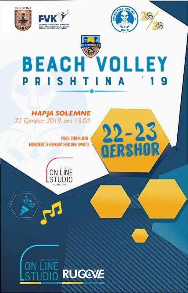BEACH VOLLEY PRISHTINA '19