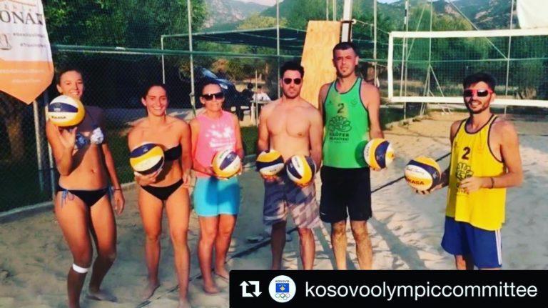 Short i vështirë për ekipet e beach volleyt në Patra 2019