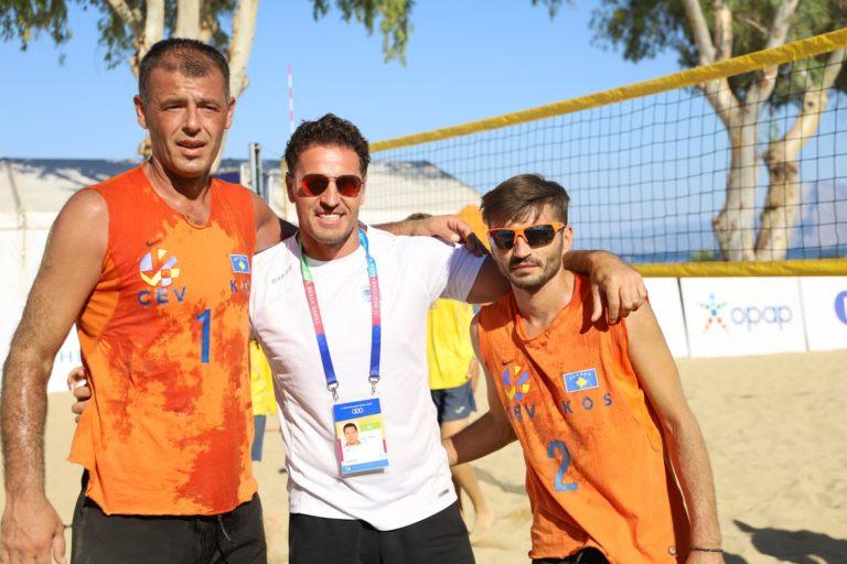 Faton Mustafa dhe Armend Berisha, shënuan fitore në ndeshjen e sotme ndaj Andorrës