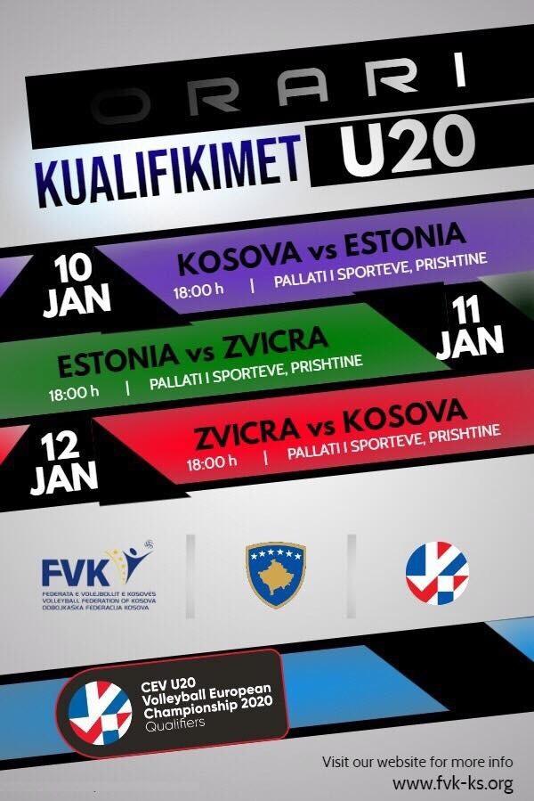 CEV U20 Kualifikimet e Kampionatit Evropian