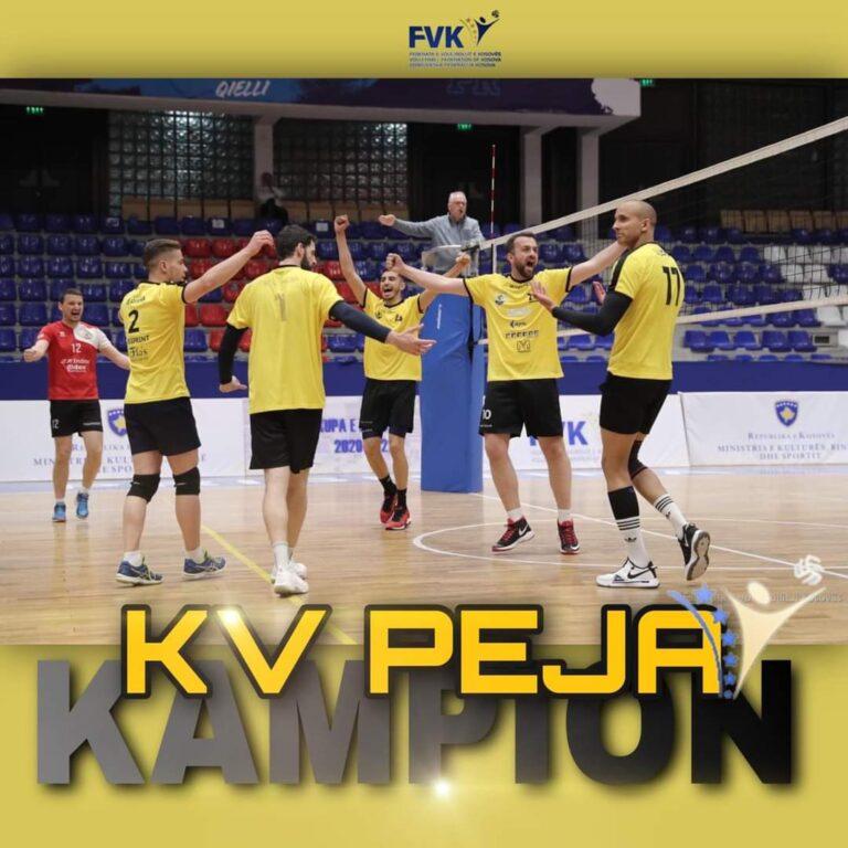 KV PEJA KAMPION I KOSOVËS 2020/21