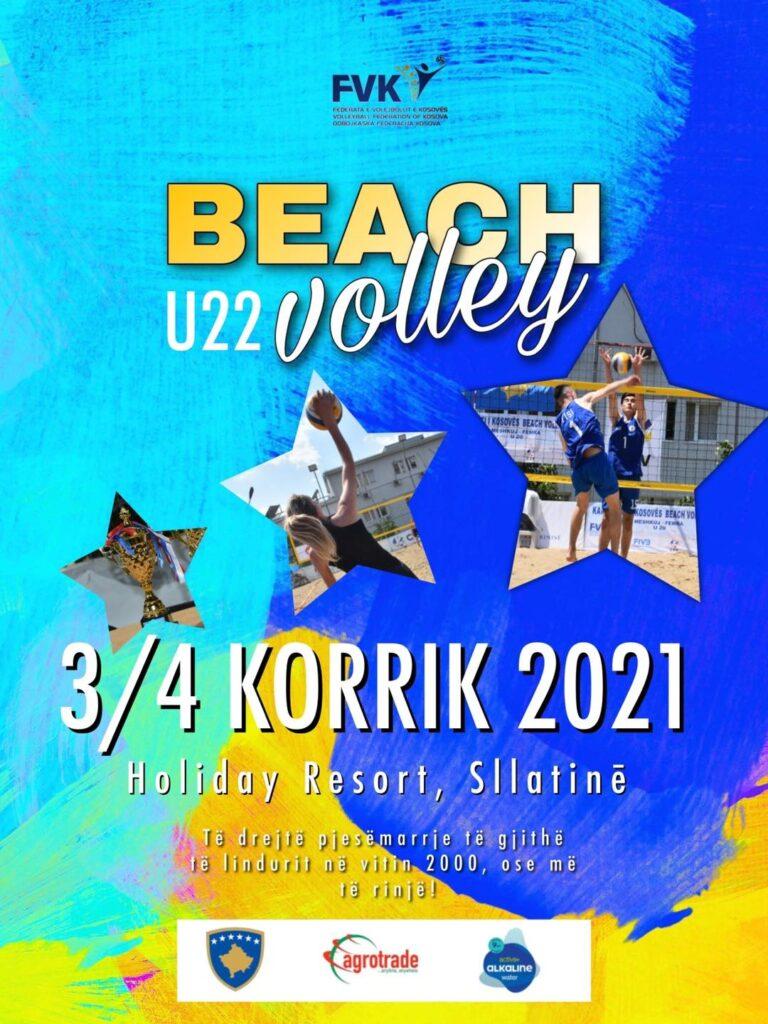 NË FUNDJAVË KAMPIONATI U22 NË BEACH VOLLEY